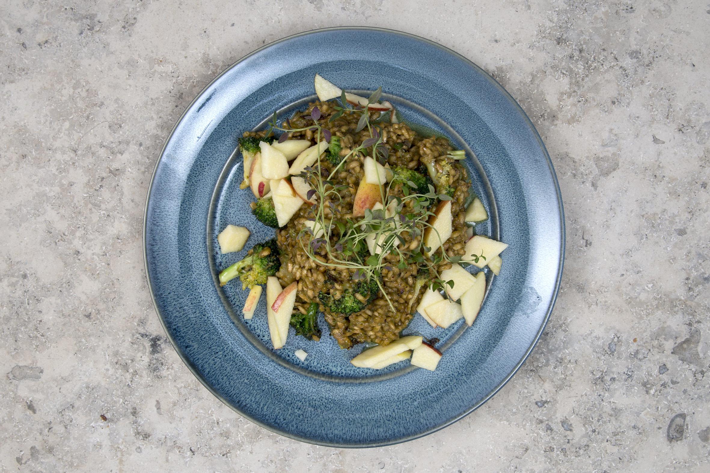 Broccoli-risotto