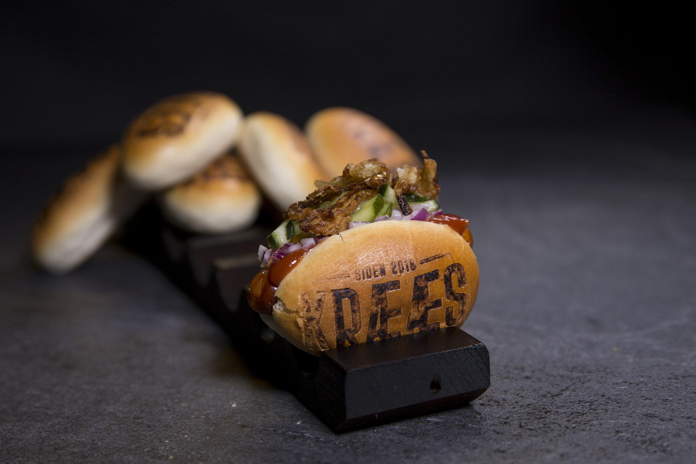 Mini hotdog Klassisk