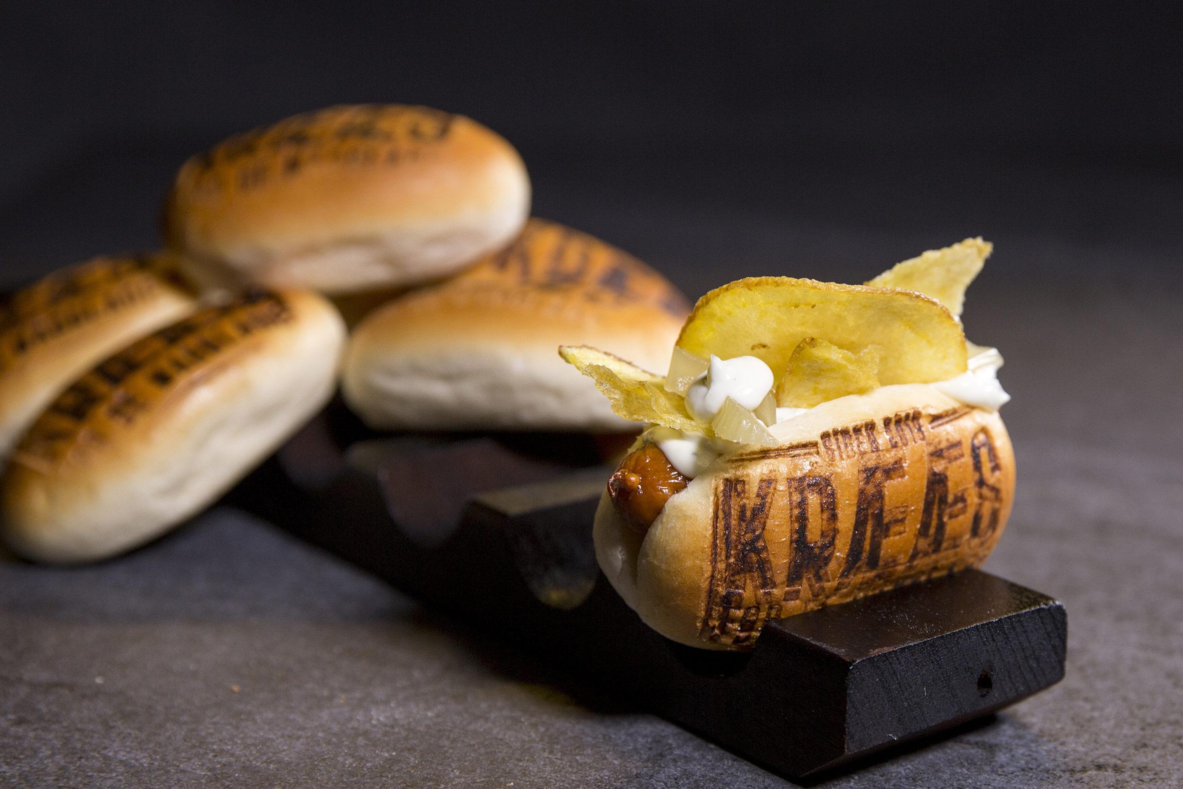 Mini hotdog Wild cheese