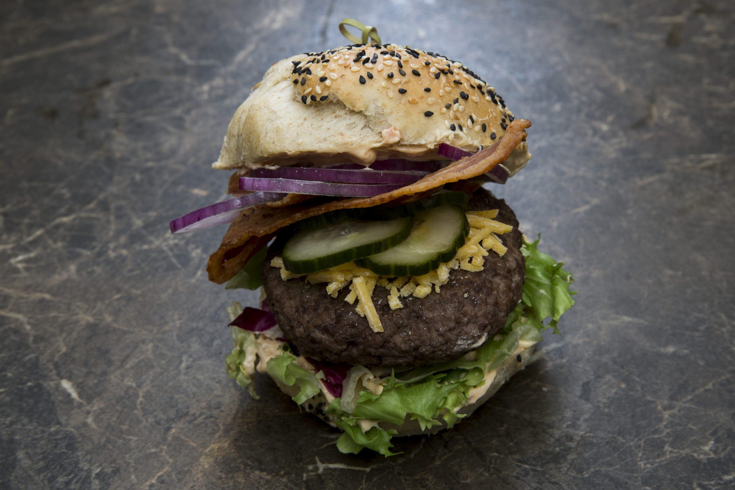 KRÆÆS burger – (byg selv)